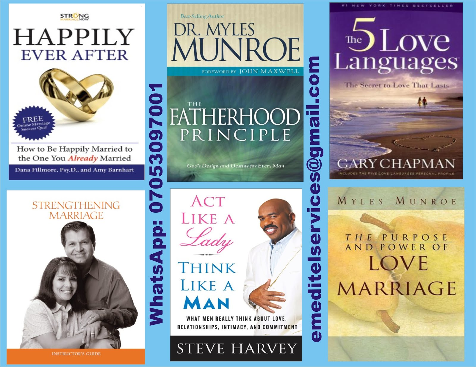 LOVE AND MARRIAGE E-BOOKS