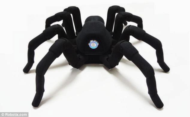 robot,spider