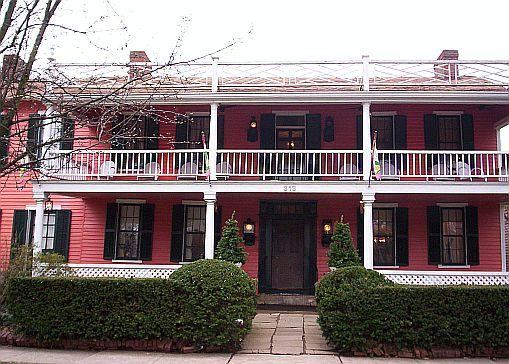 The Buxton Inn Granville Ohio Haunted History Of Columbus