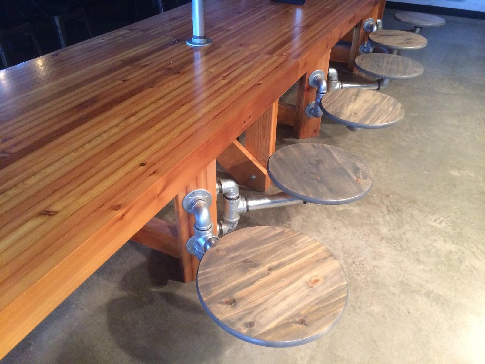Boiler Room Community Table Reclaimed Fir