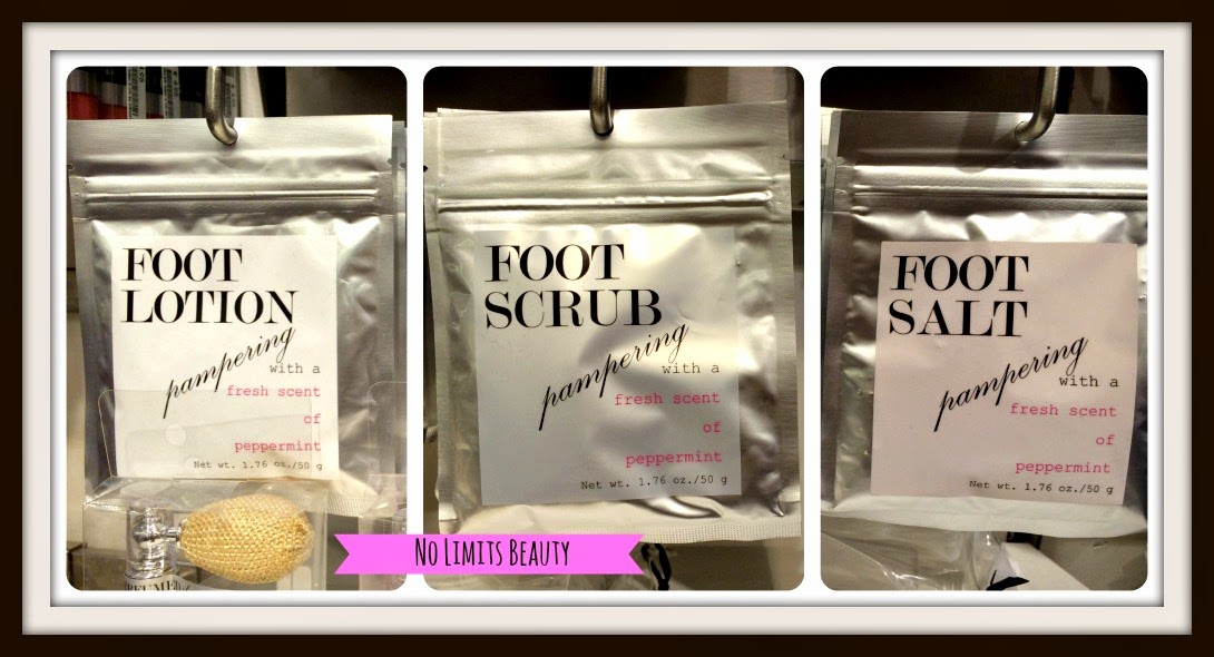 H&M - Foot Lotion, Foot Scrub, Foot Salt
