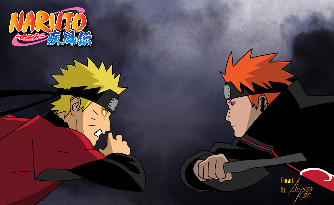 Naruto vs Pain Part 2