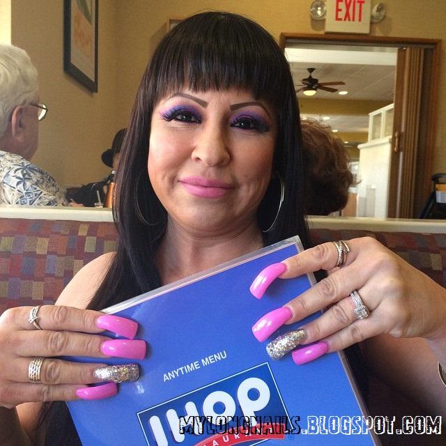 Long Nails: Super sexy Jix Jo's sexy long nails - 8