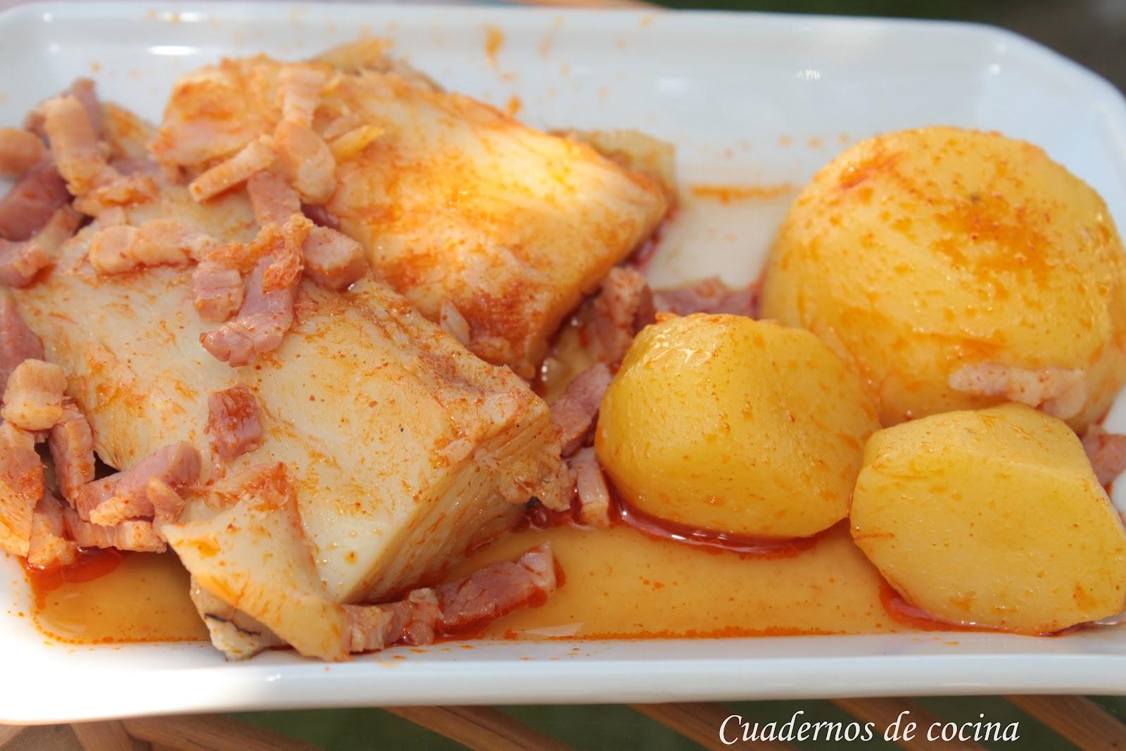 Cuadernos de cocina bacalao a la gallega - Cocinar bacalao desalado ...