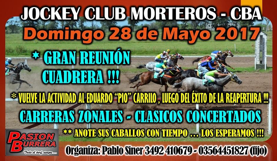 MORTEROS - 28 DE MAYO
