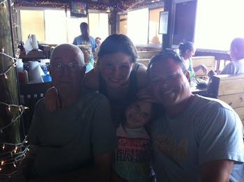 POPPA JOE WITH  MIKE,SAM AND EM
