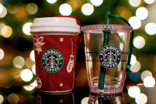 Treasures By Brenda: The 12 Days of Christmas Starbucks Gift Ideas