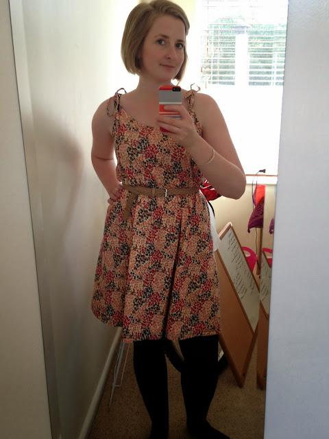 Autumn colours saltspring dress