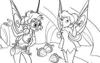 Dibujos de Tinkerbell para Pintar, parte 2