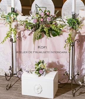 Cufar/Cutie bani nunta -KOFI - decoratiuni nunta