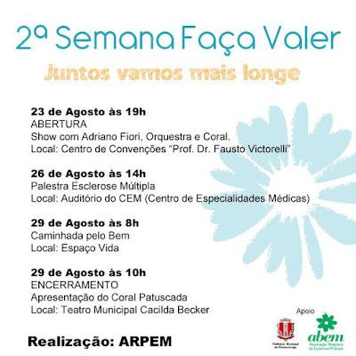Dia Nacional da Conscientização da Esclerose Múltipla - ARPEM