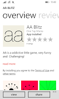 aa blitz one tap game arcade wp Lumia, Setting, tools, upgrade, windows, mobile phone, mobile phone inside, windows inside, directly, setting windows phone, windows mobile phones, tools windows, tools mobile phone, upgrade mobile phone, setting and upgrade, upgrade inside, upgrade directly