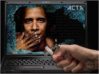 Funny photoBarack Obama ACTA