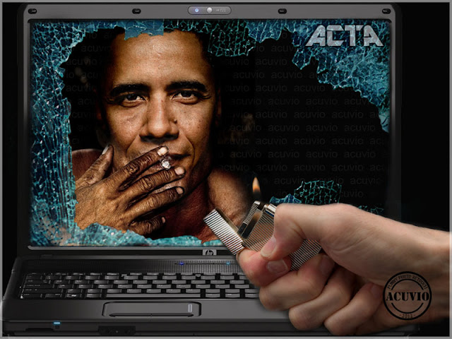 Funny photoBarack Obama ACTA