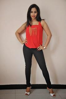 Actress Swathi Deekshith  Pictures in Jeans at Ladies and Gentlemen Movie Success Meet  20