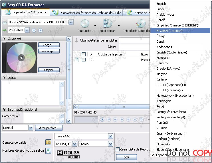 10 Oct 2012. . Descrio: O Easy CD-DA Extractor transfere suas msicas de CD