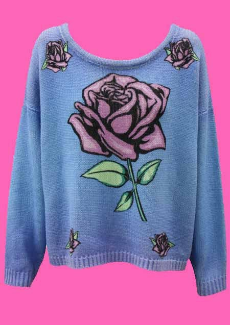 MINKPINK - DREAMING ROSE SWEATER