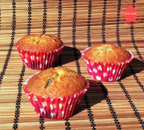 muffins fruits rouges moelleux