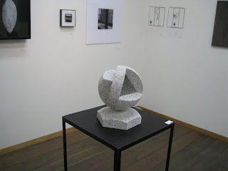 Abstract Granite Stone Sculpture by Kiwame Kubo