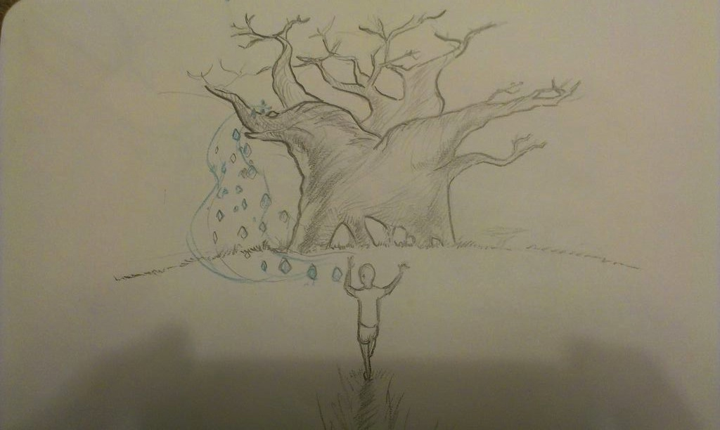 The Art Shenanigans Of Kevin Ang Anatomy Of A Scene Baobab Tree