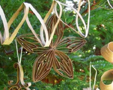 Adornos de navidad para el arbol con tubos - Adornos de navidad en carton ...