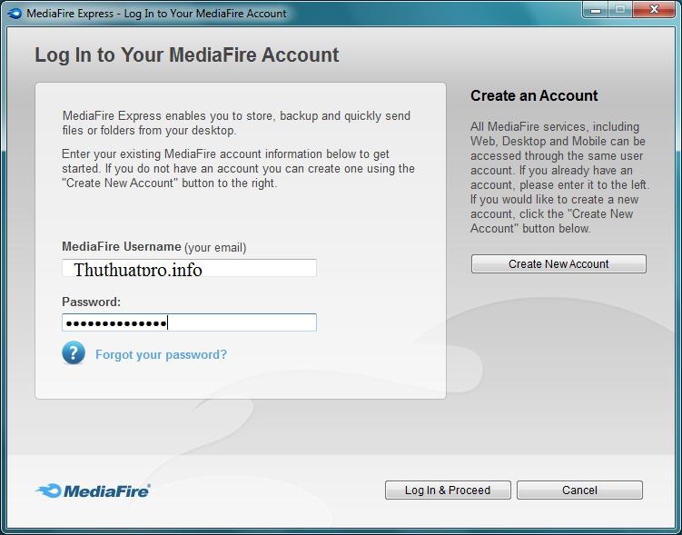Cách tăng thêm dung lượng lưu trữ cho tài khoản MediaFire