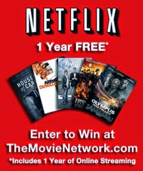 Win a Full Free Year of Netflix thanks to The Movie Network!