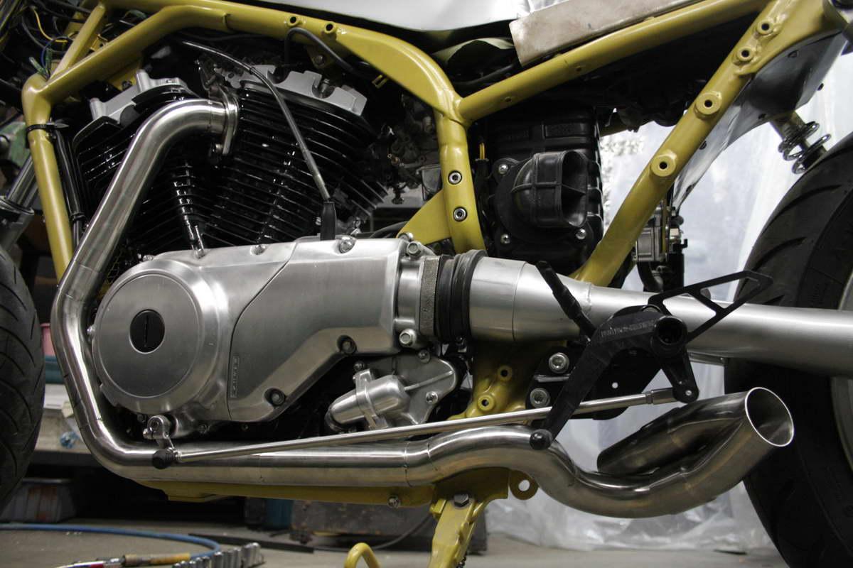 Suzuki VX800 Restoration Project: Problems at the finish line