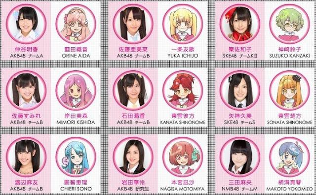 AKB0048,AKB48 Members