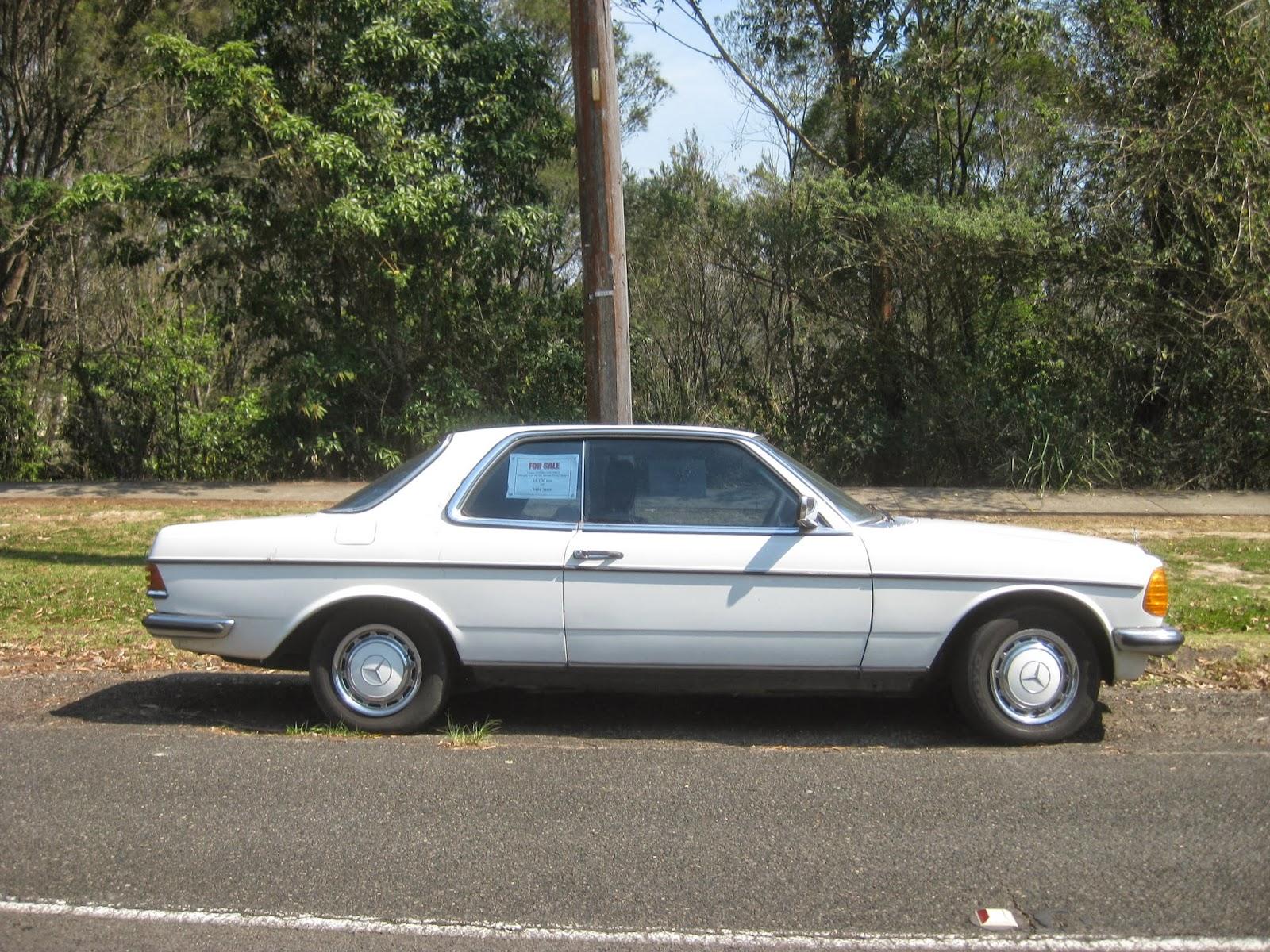Aussie old parked cars 1978 mercedes benz w123 280 ce for Mercedes benz w123