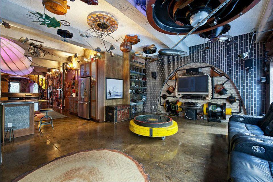 Die Wohngalerie Verrückt Leben In Einer Filmkulisse