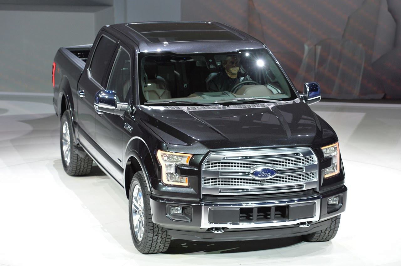 Automotiveblogz: 2015 Ford F-150: Detroit 2014 Photos