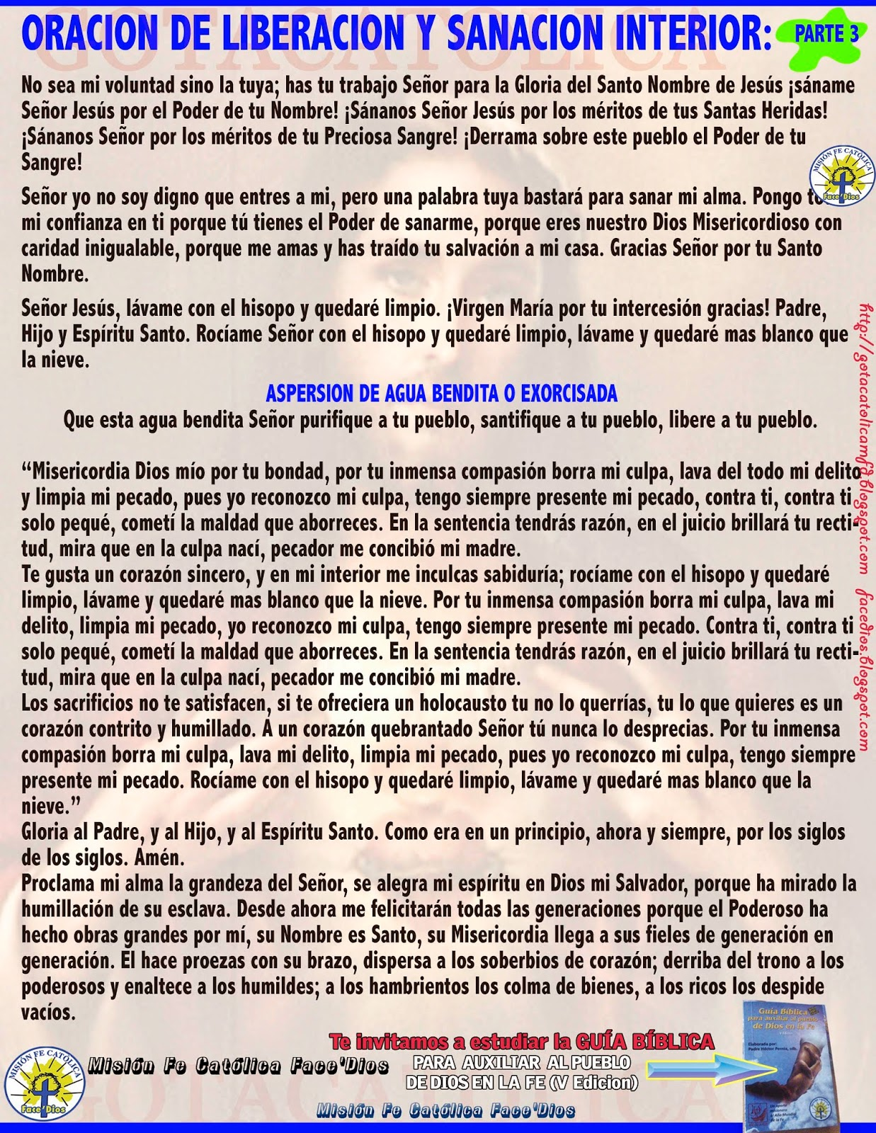 Rosario Liberacion Y Sanacion Completo Padre Moises