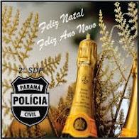 Laranjeiras do Sul:Equipe Policial da 2ª SDP deseja a todos uma Feliz Natal e um Próspero Ano novo