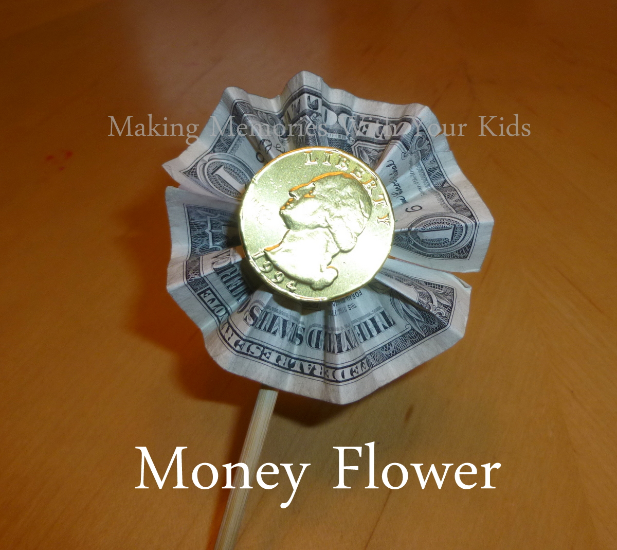 Money Bouquet & Money Bouquet - Making Memories With Your Kids Aboutintivar.Com