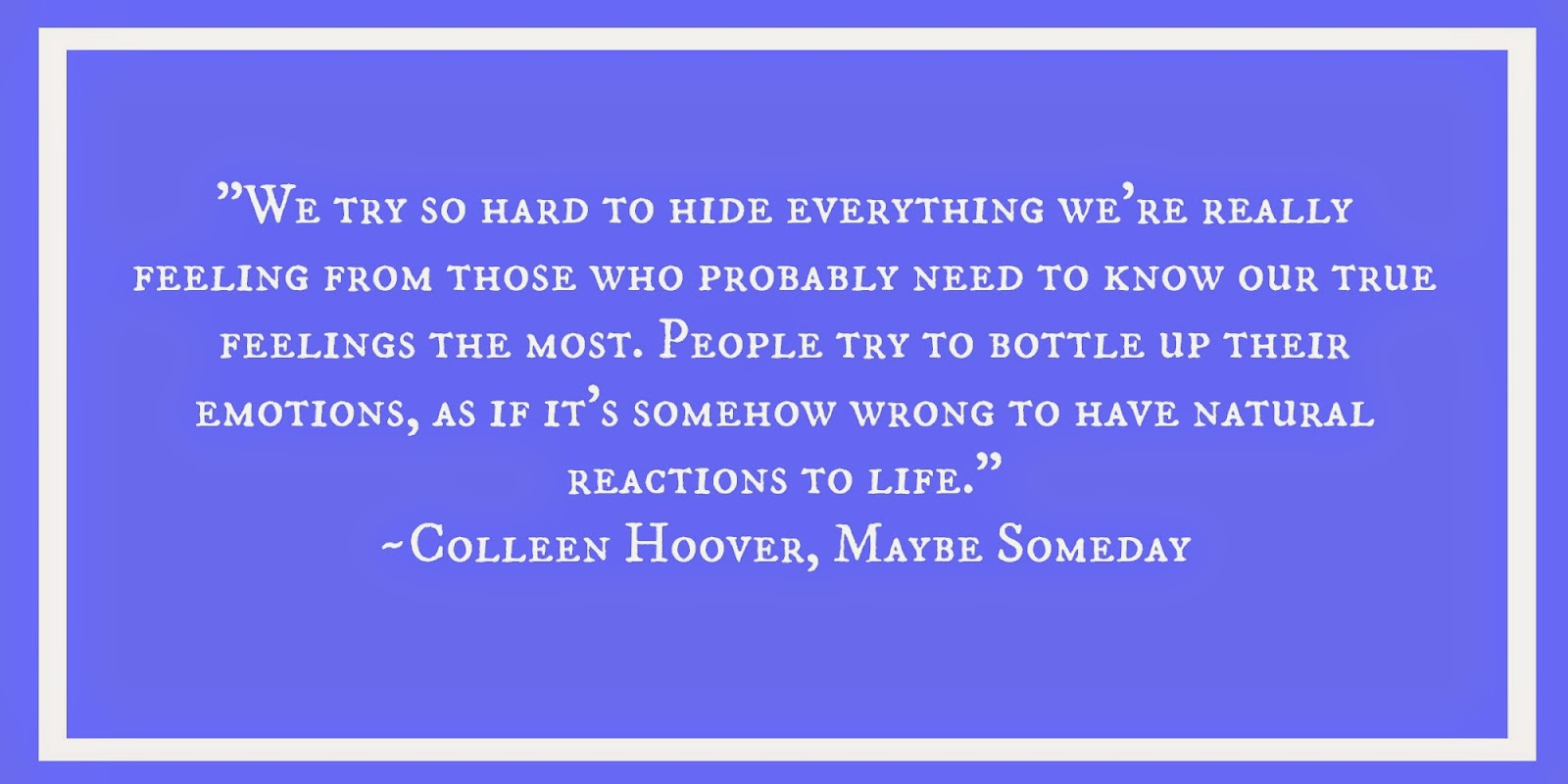 Colleen Hoover, quote