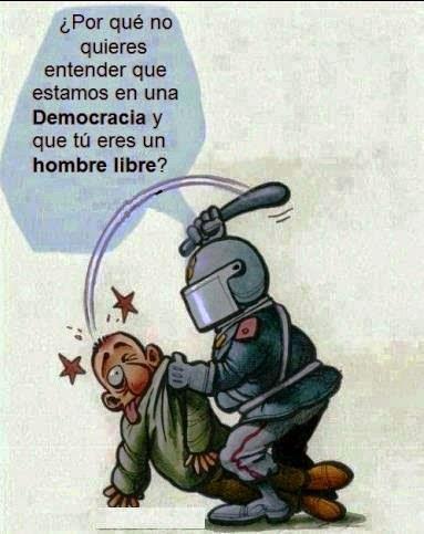 democracia e liberdade...