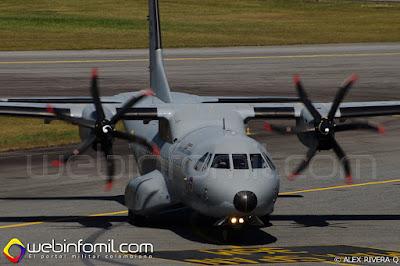 C-295 TITAN de la Fuerza Aérea Colombiana.