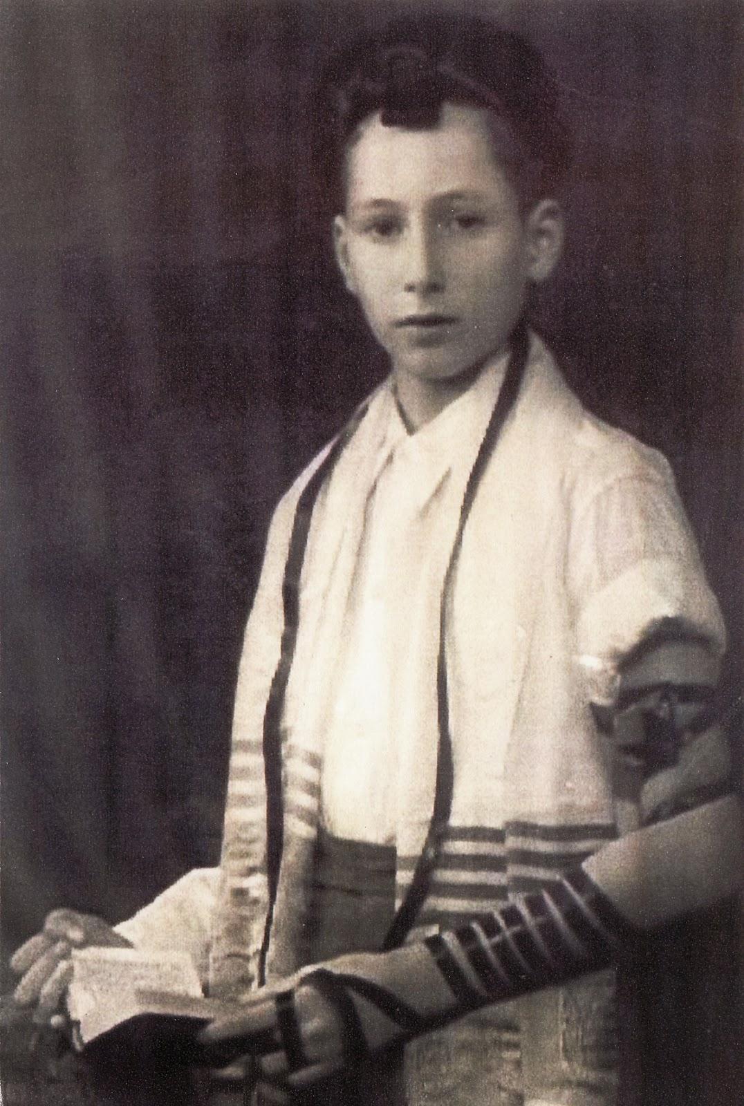 הרב אליעזר ברלנד בר מצוה