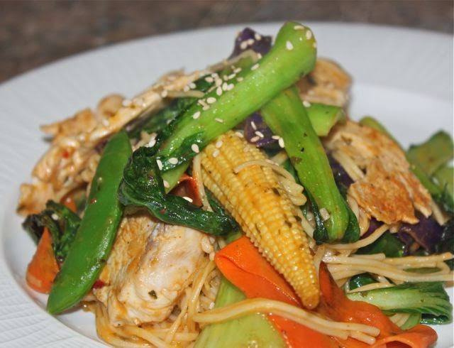 Thai coconut chicken stirfry