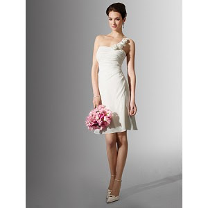 chiffon-one-shoulder-with-pleat-ruched-bodice-and-elegant-tea-length