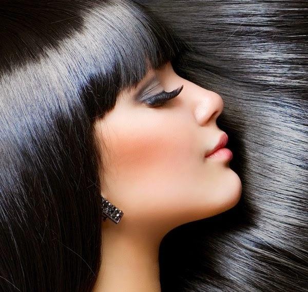 rambut indah alami