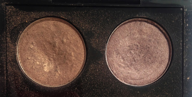 MAC Patina and Satin Taupe