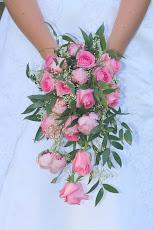 Brudebuketten min