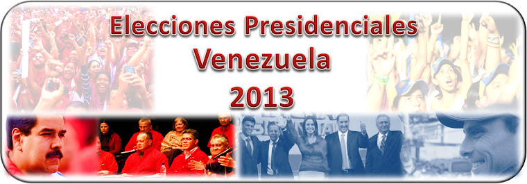 Elecciones Presidenciales Venezuela 2013