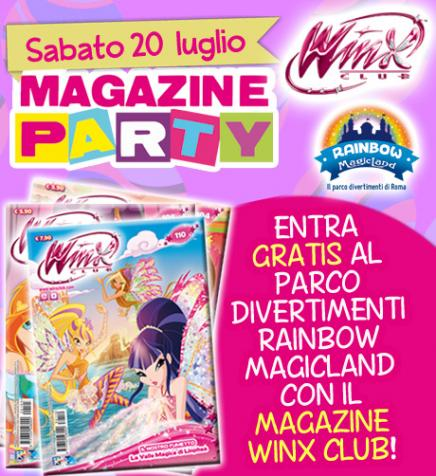 ¡¡20 de Julio Winx Club Magazine Party en Rainbow MagicLand!! 20-luglio-magazine_party-460x503-2
