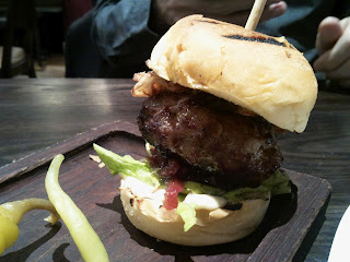 Opera Tavern Mini Iberico Pork Burger
