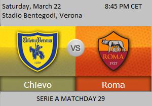 Prediksi Chievo vs AS Roma