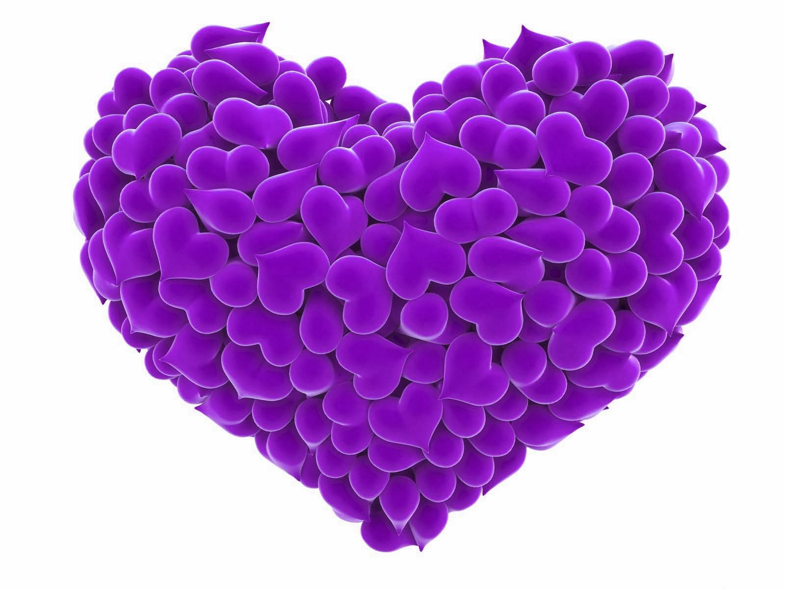 heart-love-purple-color-wallpaper