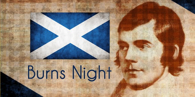 Scotland Burns Night Celebration Party Decoration Flags, Bunting, Balloons